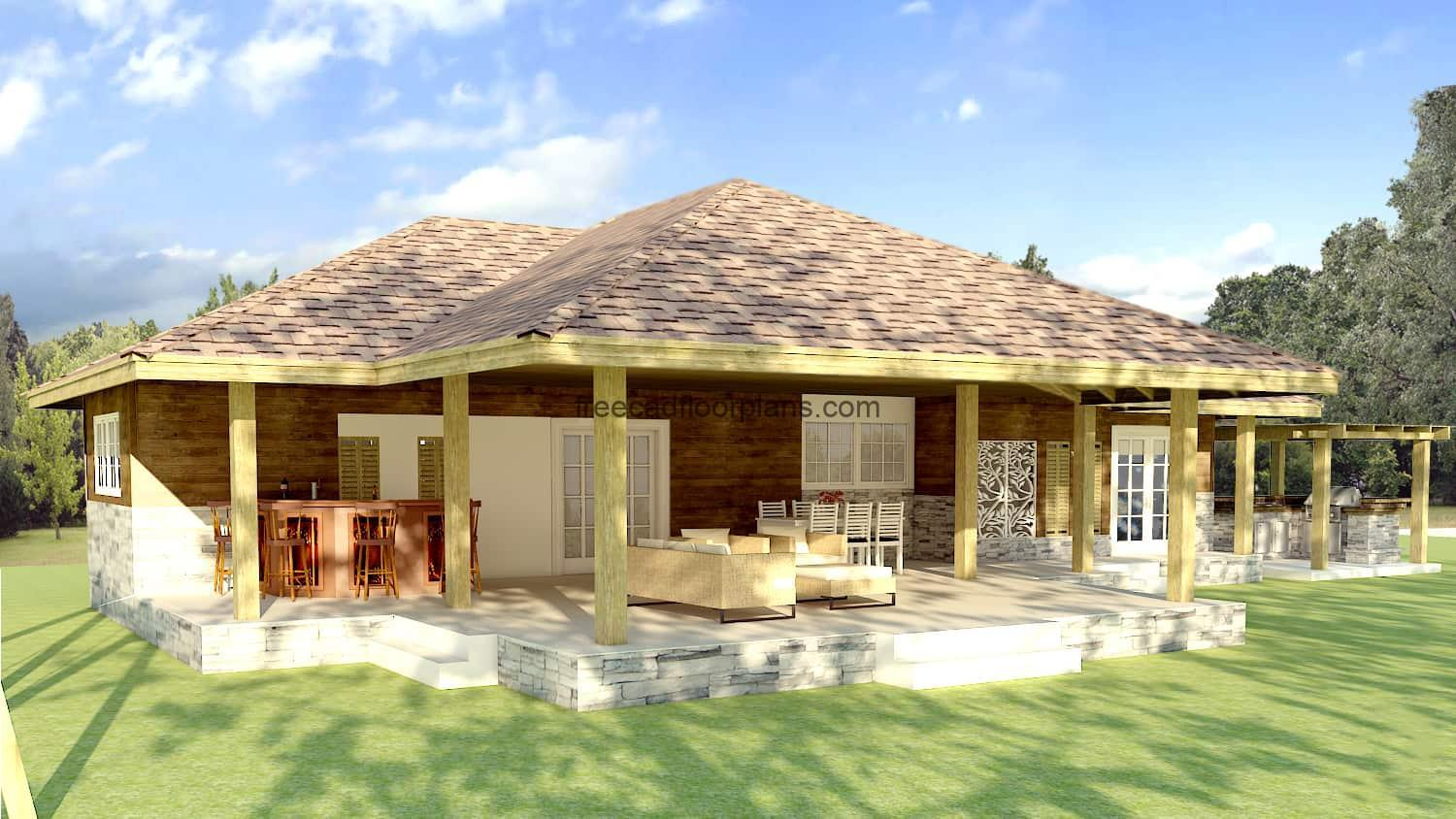 Country house architectural project