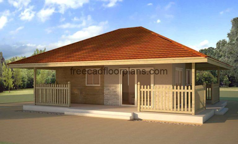 Low-Cost Simple Small Cottage, 2708201
