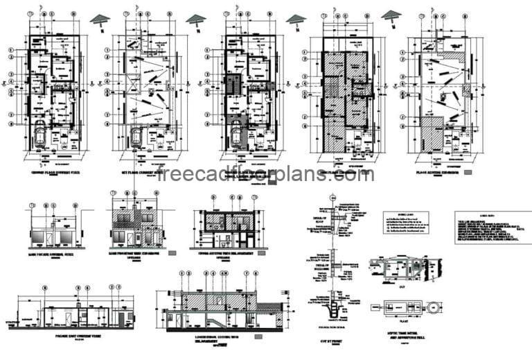 Complete Project for the Extension of the House AutoCAD Plan, 1011202